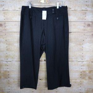 Lane Bryant Crop Pants - NWT - size 14